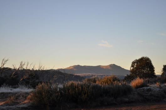 Mt Jajungal at Dawn