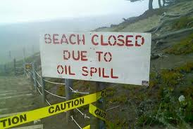 beach oil