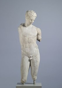 greek statur